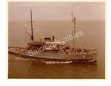 Navy Ship USS Preserver ARS-8 Rescue And Salvage Ship Official Photo 8x10