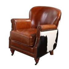 Cow Skin | Leather | Lounge Chair | Vintage Design | Vittorio