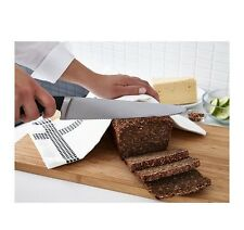 """9"""" Ikea 365+ Bread knife,stainless steel,Materials in handle provide a firm grip"""