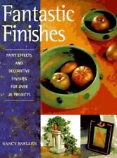 Fantastic Finishes: Paint Effects and Decorative Finishes for Over 30-ExLibrary