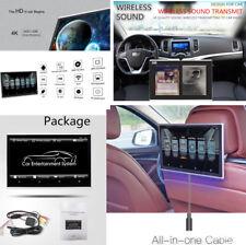 11.6 Inch Android 6.0 Car Headrest Monitors HDMI 1.5G RAM FM 4K 1080P Video