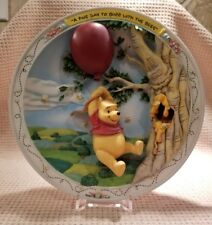 Bradford Exchange Winnie The Pooh A Fine Day To Buzz With The Bees Plate Coa