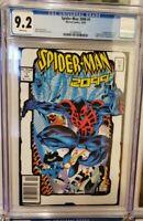 Spider-Man 2099 #1 CGC 9.2 NM- Toybiz 2nd print RARE HIGH GRADE