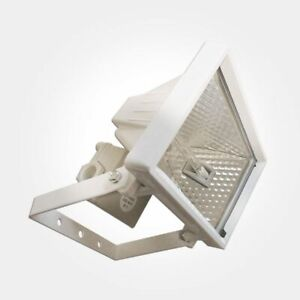 OUTSIDE LIGHT 6w LED Floodlight Security Light (or 120w halogen Lamp included)