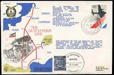 Netherlands 1980 The Dutch-Paris Line RAF Cover #C31803