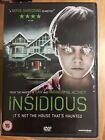 Rose Byrne Patrick Wilson INSIDIOSA 2011 James Wan Culto Horror Película RU DVD