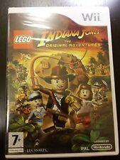 LEGO Indiana Jones: The Original Adventures (Nintendo PAL Wii) BRAND NEW&SEALED