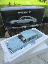 MINICHAMPS - Volkswagen VW 1600 TL 1970 (hellblau) 1:18 (selten) NEU & OVP