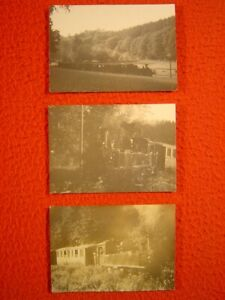 "DAMPFLOKOMOTIVE ""BR 99"" - HETZDORF-EPPENDORF - 3 Fotos"