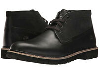 TIMBERLAND BRITTON HILL CLEAN CHUKKA BLACK LEATHER A1MDY MENS US SIZES