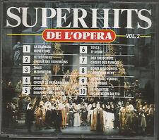 SUPER HITS DE L'OPÉRA Vol 2 - 2 CD SET (1992) GLINKA MASCAGNI VERDI DONIZETTI ++