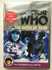 Doctor Who The Hand of Fear (Tom Baker) - DVD UK Release Sealed!