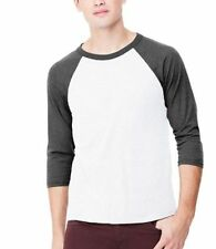 Polycotton Crew Neck Patternless Big & Tall T-Shirts for Men
