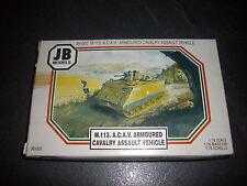 JB MODELS M.113 A.C.A.V ARMOURED  CAVALERY ASSAULT VEHICLE PLASTIC MODEL 1/76