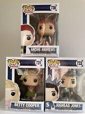 Funko Pop! Riverdale Bundle Archie Andrews #730 Betty Cooper #731 Jughead #733