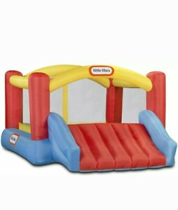 Little Tikes Inflatable Jump 'n Slide Bounce House w/ Heavy Duty Blower 620072X1