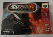 Asteroids Hyper 64 N64 Factory Sealed New In Box
