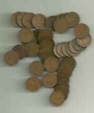 George V  Canada   Small Cent  (45 COINS IN THIS LOT)