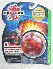 Bakugan Red FROSCH Battle Brawlers Pyrus Booster Pack NEW Official Frosh Frog