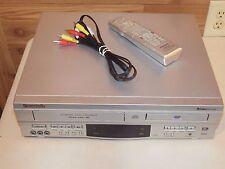 Panasonic (PV-D4752) Double Feature Progressive Scan DVD Player / VCR W/ Remote