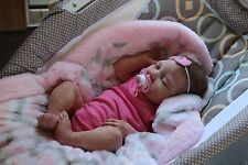 Beautiful Claire Taylor Silicone Baby Doll Realistic Newborn Baby Girl w/ COA