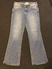 Carhartt Jeans womens Sz.6-32x32-Original Fit-Boot-Cotton Bl-M Blue Denim