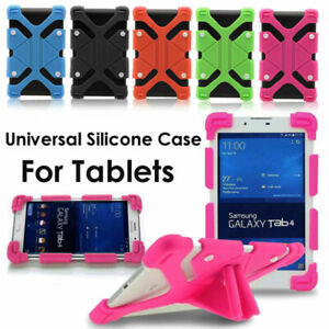 "For 10"" - 10.1"" Tablets PC Universal Rubber Kids Shockproof Silicone Case Cover"