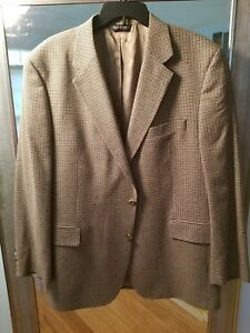 Men's Joseph A. Banks Tweed Blazer, 46R