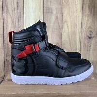 Nike Air Jordan 1 Moto Black/Gym Red Basketball Shoes AT3146-001 Men's Size 12
