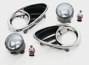 Front Chrome Bezels with Fog Lights set for Infiniti Qx 70 Fx 30d 35 37 50 09-
