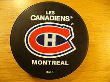 NHL Montreal Canadiens Basic Series Souvenir Team Logo Hockey Puck Collect Pucks
