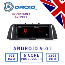 "BMW F10 F11 * Android 9.0 * 6 CORE - 4GB - 32GB - 10.25 "" 5 SERIES ID6 ID7 PX6"