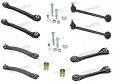 8pc Left+Right Rear Control Arm Kit Upper+Lower+Center+Bolts Karlyn for Mercedes