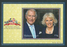 ST MALAYSIA ROYAL VISIT PRINCE OF WALES & DUCHESS OF CORNWALL 2017 MS MNH