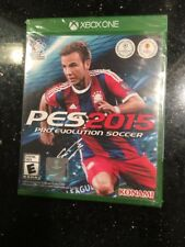 Microsoft XBOX One Pes 2015 Pro Evolution Soccer Brand New Factory Sealed