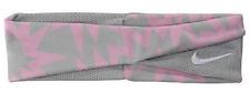 Nike Twisted Headband Color Strata Grey / Pink / White Mens Women's Osfm