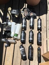 Paintball Air Tank Lot - Plus Mask Everything included