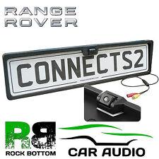 RANGE ROVER Rear View Reversing Parking Colour Camera & Car Number Plate Frame
