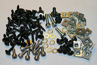 COMPLETE SET SCREWS FAIRING BOLTS + CLIPS YAMAHA AEROX MBK NITRO - 99 PARTS NEW