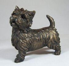 More details for bronze westie west highland gifts terrier dog figures sculpture statue figurine