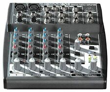 Behringer XENYX 802 Premium Input 2-Bus Mixer w/XENYX Mic Preamps and British EQ