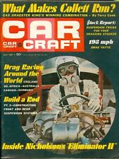 1967 Car Craft Magazine: Nicholson's Eliminator II/Drag Racing Around the World