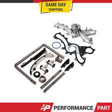 Timing Chain Kit Water Pump for Lexus Toyota 2.5L 3.5L DOHC 24V 2GRFE 2GRFXE