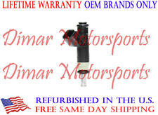Lifetime Warranty - Single OEM Fuel Injector - 04891577AB - 2.0L 2.4L Jeep