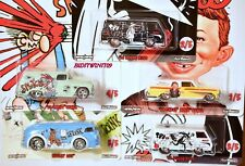 HOT WHEELS POP CULTURE MAD MAGAZINE SET OF 5 SPY DODGE CHEVY