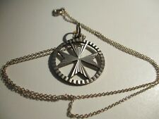 925 SILVER CROSS PENDANT AND CHAIN