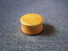 Hand Made 22mm Wooden Ear Plug
