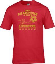 Kinder Liverpool UEFA Champions Liga Cup Finale 2019 Gewinner T-Shirt