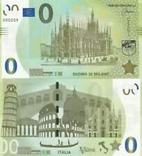 Biljet billet zero 0 Euro Memo - Duomo di Milano (093)
