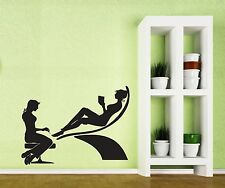 Spa Beauty Manicure Salon Elegance of Women Wall Sticker Vinyl Decal (n017)